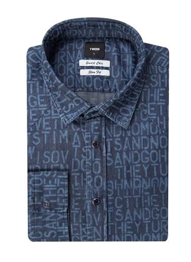 Tween Jean Gömlek İndigo
